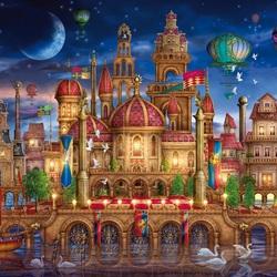 Пазл онлайн: Волшебный замок