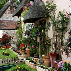 Пазл онлайн: Английская деревня