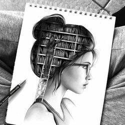Пазл онлайн: Библиотека в памяти