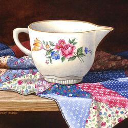 Пазл онлайн: Чашка