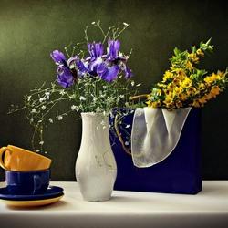 Пазл онлайн: Весенний завтрак