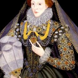 Пазл онлайн: Елизавета I, королева Англии