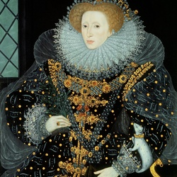Пазл онлайн: Елизавета I  королева Англии