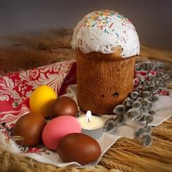 Пазл онлайн: Традиции и обычаи Пасхи