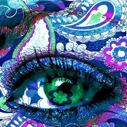 Пазл онлайн: Глаз