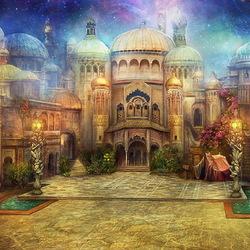 Пазл онлайн: Восточный базар