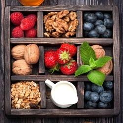 Пазл онлайн: С молоком и мёдом