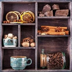 Пазл онлайн: Кофе со специями