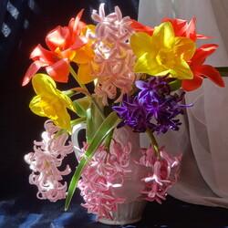 Пазл онлайн: Весенний букет