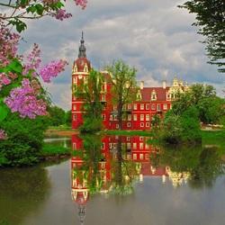 Пазл онлайн: Новый замок Мускау