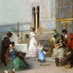 Пазл онлайн: Алькасар в  Севилье