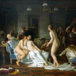 Пазл онлайн: Девичник в бане