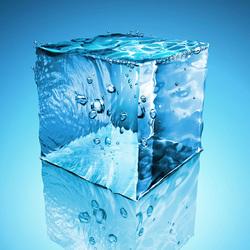 Пазл онлайн: Водяной кубик