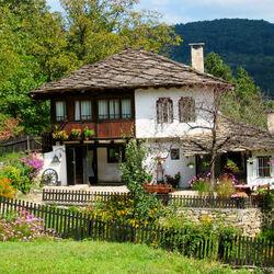 Пазл онлайн: Дом в деревне