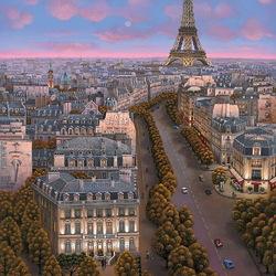 Пазл онлайн: С любовью к Парижу
