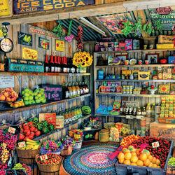 Пазл онлайн: На прилавках магазина