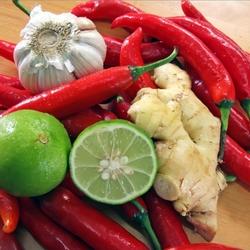 Пазл онлайн: Ингредиенты азиатской кухни