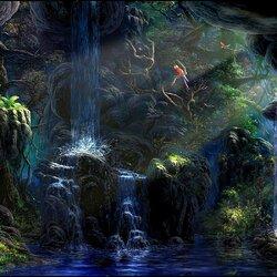 Пазл онлайн: Таинственный лес