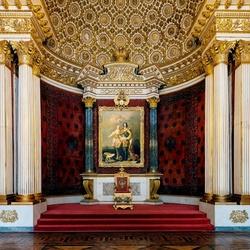 Пазл онлайн: Тронный зал Зимнего дворца