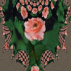 Пазл онлайн: Ваза из роз