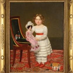 Пазл онлайн: Игра с куклой