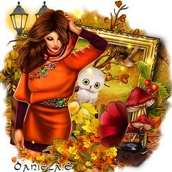 Пазл онлайн: Осенняя мелодия