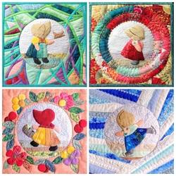 Пазл онлайн: Лоскутное шитье