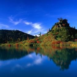 Пазл онлайн: Утро на озере