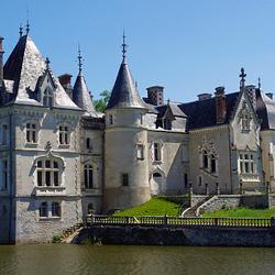 Пазл онлайн: Замок Château-Rocher à Saint-Mathieu