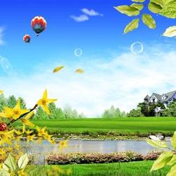 Пазл онлайн: Весенний день