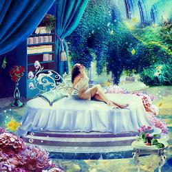 Пазл онлайн: Утро в моей комнате