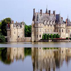 Пазл онлайн: Отель Chateau Domaine de la Bretesche