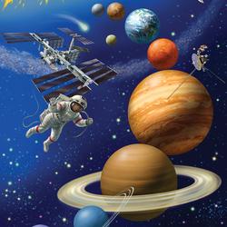 Пазл онлайн: Космос точно будет наш