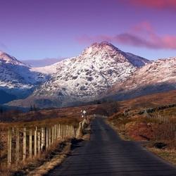 Пазл онлайн: Снежные горы