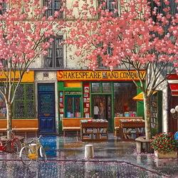 Пазл онлайн: Парижские улицы