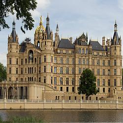 Пазл онлайн: Шверинский замок