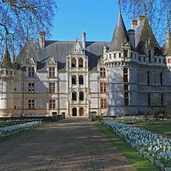 Пазл онлайн: Замок Азе-ле-Ридо