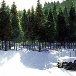 Пазл онлайн: Солнечный, зимний день