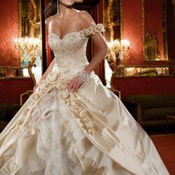 Пазл онлайн: Свадебное платье в стиле ретро