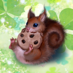 Пазл онлайн: Сookie / Печенька