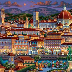Пазл онлайн: Флоренция