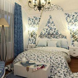 Пазл онлайн: Спальня в стиле прованс