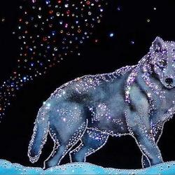 Пазл онлайн: Северный волк
