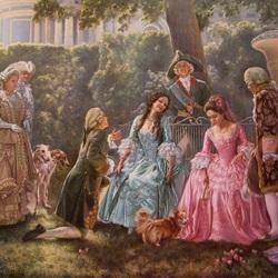 Пазл онлайн: В тени аллей дворцового парка