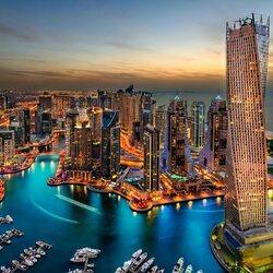 Пазл онлайн: Дубай