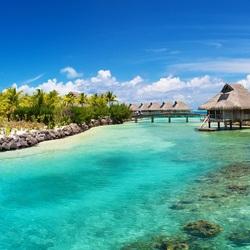 Пазл онлайн: Рай в тропиках