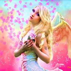 Пазл онлайн: Грусть ангела