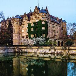 Пазл онлайн: Замок Нойенштайн