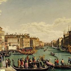 Пазл онлайн: Праздник в Венеции