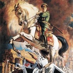 Пазл онлайн: Портрет маршала Георгия Жукова